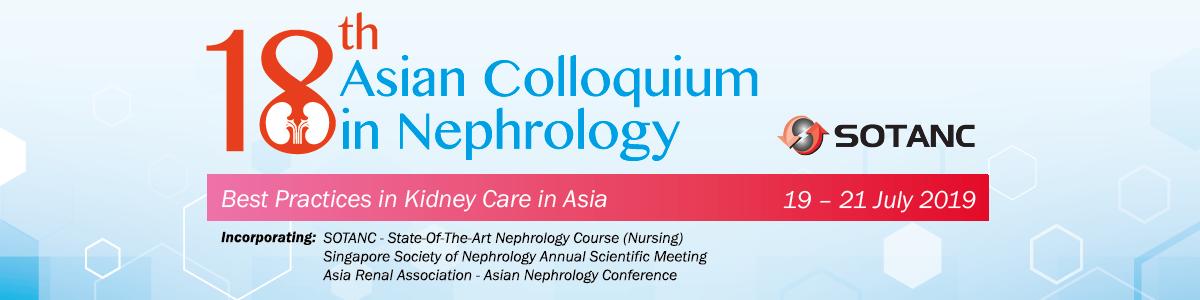 18th Asian Colloquium in Nephrology