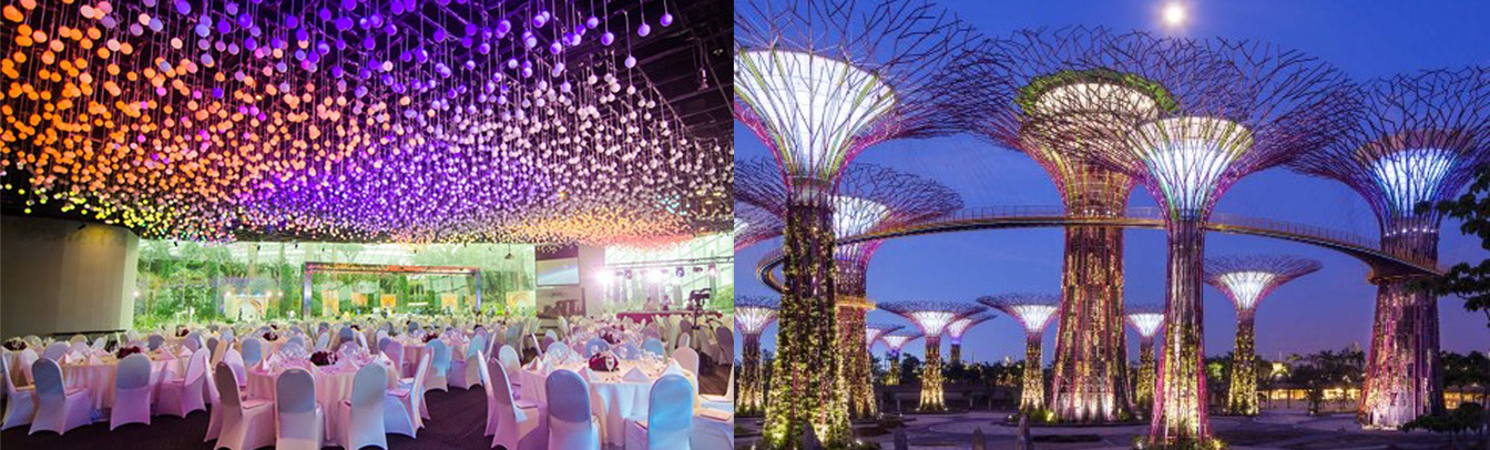 Enjoy The Singapore Culinary Experience At The Flower Field Hall. Nestled  Within The Flower Dome At The Gardens By The Bay, Flower Field Hall  Provides A ...